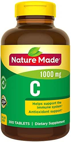Nature Made Vitamin C 1000mg, 300 Tablets