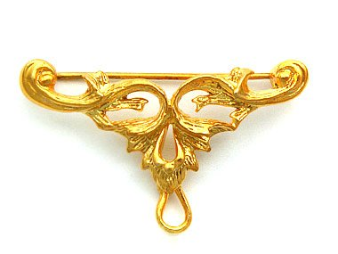 Brooch Faberge style -