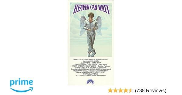 Amazon.com: Heaven Can Wait [VHS]: Warren Beatty, James Mason, Julie Christie, Jack Warden, Charles Grodin, Dyan Cannon, Buck Henry, Vincent Gardenia, ...