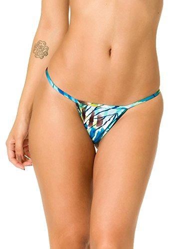 COQUETA Brazilian Teeny Bitsy Micro Thong Mini Bikini Swimsuit G String - G-string Mini