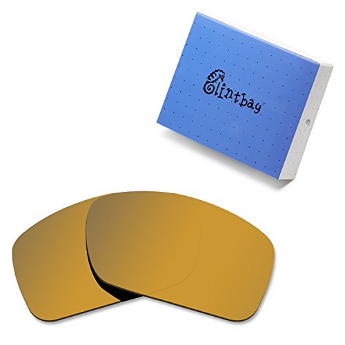 Glintbay 100% Precise-Fit Replacement Sunglass Lenses for Costa Del Mar Blackfin - Polarized Bronze Gold Mirror by Glintbay