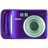 Vivitar Vivicam 12.1 MP Compact Camera, Grape (VT324N-GRAPE)