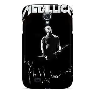 Best Hard Phone Case For Samsung Galaxy S4 With Unique Design HD Metallica Series SherieHallborg