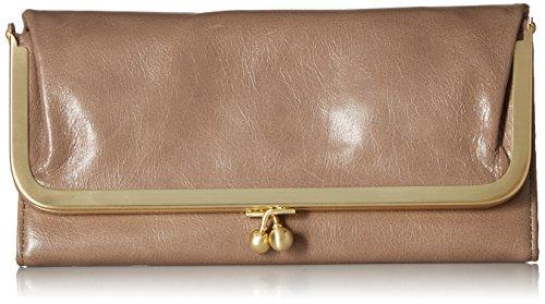 (Hobo Womens Rachel Vintage Wallet Leather Clutch Purse (Ash))