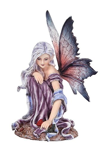 Fairyland Purple Winged Statue Figurine product image