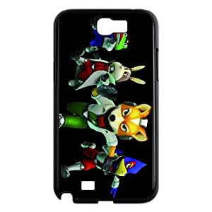 Samsung Galaxy N2 7100 Cell Phone Case Black star fox zero Vyzha