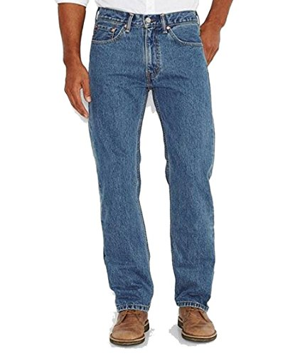 Levi's Men's 505 Regular Fit Jean, Medium Stonewash, 36x30