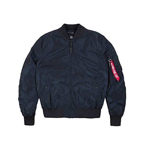 Jacket INDUSTRIES Irridian MA blue Rep Bomber 1 TT Burgundy ALPHA qfaxXYa