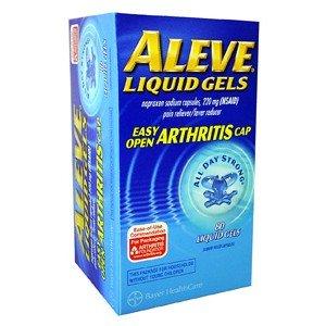 Aleve Liquid Gels Easy Open Arthritis Cap 80 Liquid Gels by BAYER CORPORATION