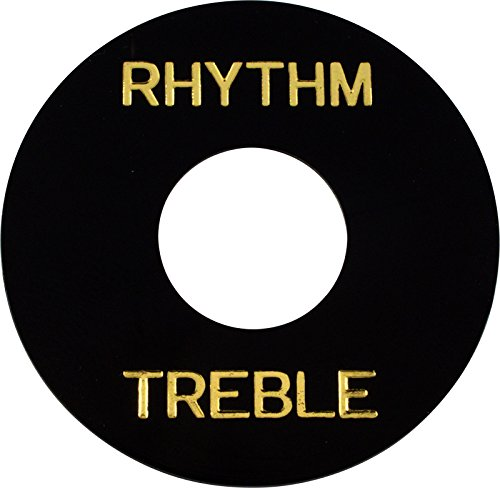Ring Treble (Switchwashers - Rhythm, Black with Gold Lettering, for Les Paul)