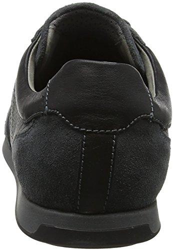 Grey U Dk Geox Black a Clemet Zapatillas Para Gris Hombre R7q4zx7p