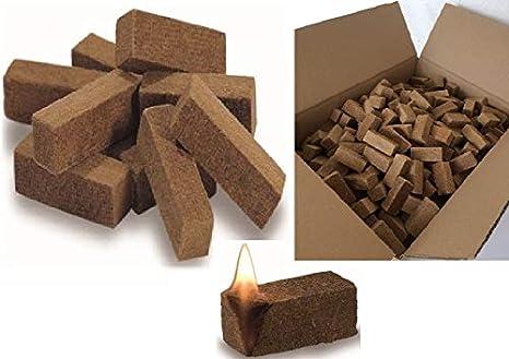 autoencendido (1800 unidades Chimenea Cigarrillos Barbacoa Cigarrillos Madera en Caja de cartón sin cera: Amazon.es: Jardín