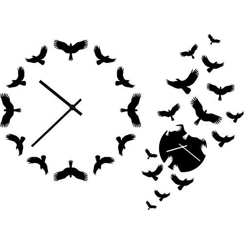 Mudder 31 mm Long Shaft Quartz Clock Movement DIY Clock Repair Kit Black