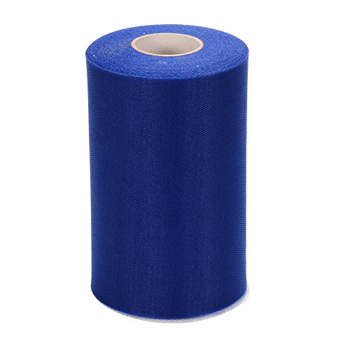 Adeeing Tulle Bolt Roll Spool 6x200Yards 600FT for Wedding Party Decoration, Party Supplies (Church Pew Fabric)