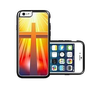 RCGrafix Brand Christian Cross Rays iPhone 6 Case - Fits NEW Apple iPhone 6 wangjiang maoyi