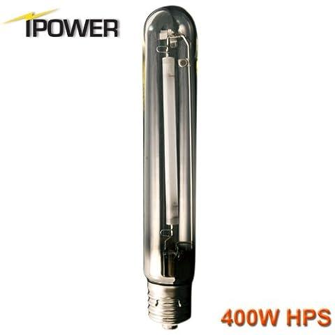 iPower 400 Watt High Pressure Sodium Super HPS Grow Light Lamp Bulb Fully Spectrum (Spectrum 400w Hps Bulb)