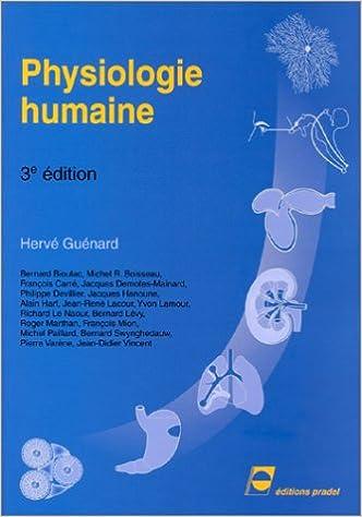 Livre Physiologie humaine pdf, epub