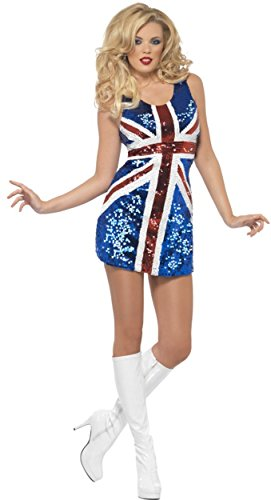 Smiffys Fever All that Glitters Rule Britannia Costume]()