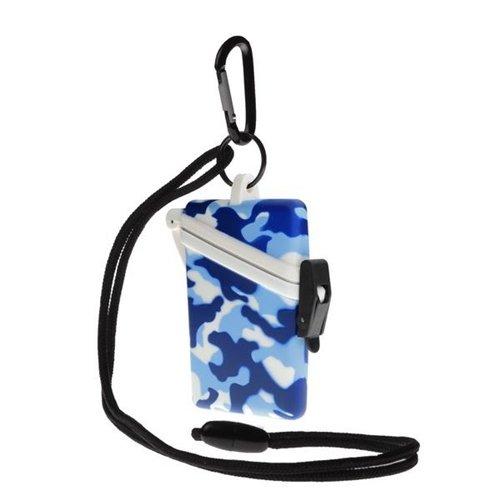 Witz Dry Box SurfSafe Camo (Blue) (Witz Case Dry Surf Safe)