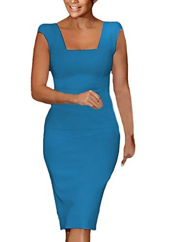 Cerniera A Da Tubino Fashion Matita Colori Dalla Donna Abbigliamento  Chiusura Del Vestiti Con Festivo Vestito Smanicato ... 45fd56756db