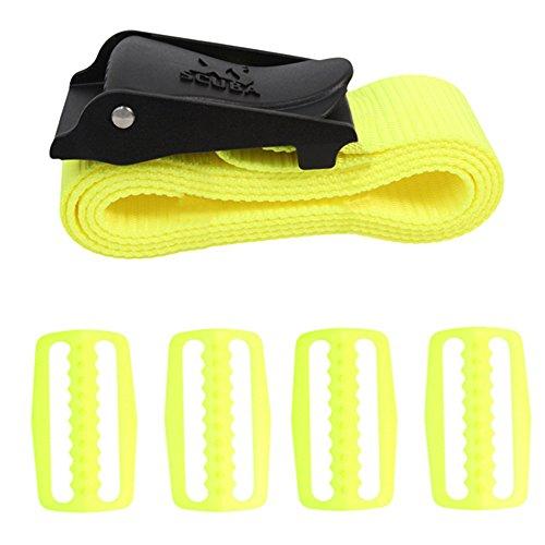 XS Scuba ClearPath Weight Belt-Yellow ()