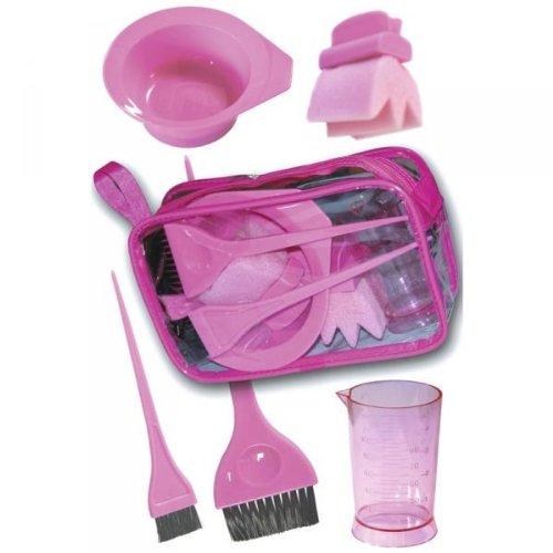 pink dye brush - 9