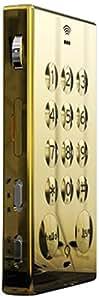 John's Bar 95g Oro - Teléfono móvil (Monocromo, SIM única, GSM, 850,900,1800,1900 MHz, Micro-USB B, Monofónico)