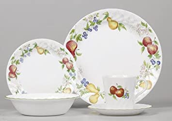 Corelle Impressions Chutney 20-Piece Dinnerware Set Service for 4 & Amazon.com | Corelle Impressions Chutney 20-Piece Dinnerware Set ...