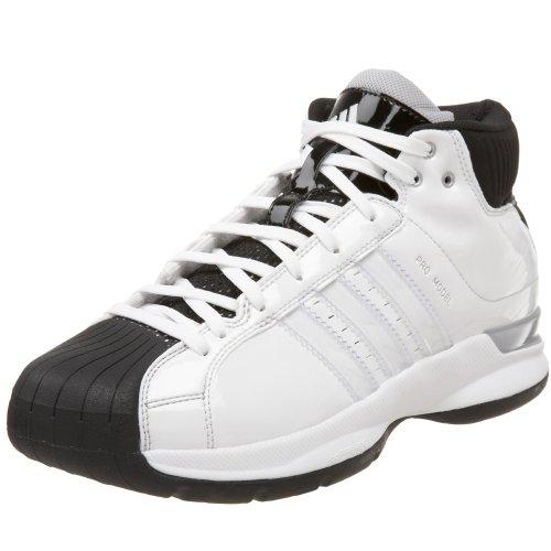 adidas Men's Pro Model 08 Team Co Basketball Shoe,Run White/Run White/Black1,9 -