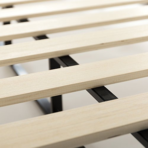 Zinus Walter 7.5 Inch Standard Profile Metal Smart Box Spring / Mattress Foundation / Wood Slat Support / Easy Assembly, Queen