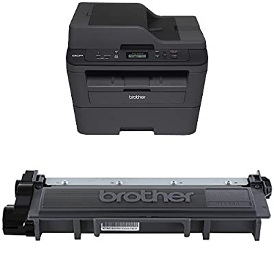 Brother DCPL2540DW Wireless Laser Printer and Brother TN660 High Yield Toner