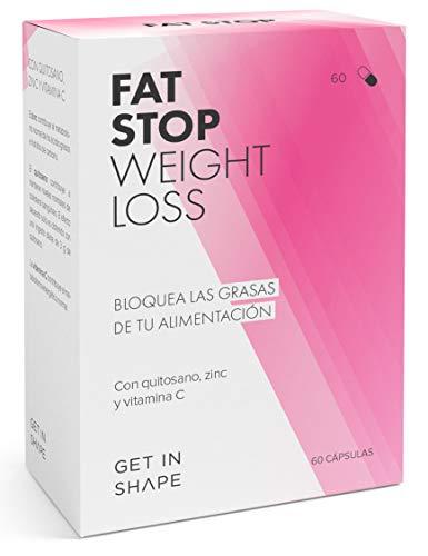 🥇 FAT STOP – Bloqueador grasas en cápsula – Se adhiere a la grasa de los alimentos y reduce la ingesta calórica