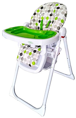 Bebe Style Hilo Multi Function Recline Foldable Highchair (Apple Burst)