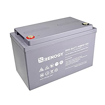 Renogy Deep Cycle AGM Battery 12 Volt