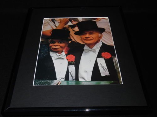 Edgar Bergen The Muppet Movie Framed 11x14 Photo Display