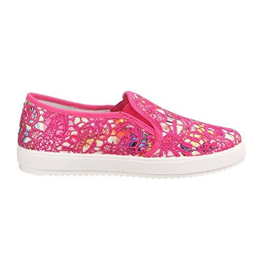 Ital-Design - zapatilla baja Mujer Varios Colores - Pink Multi