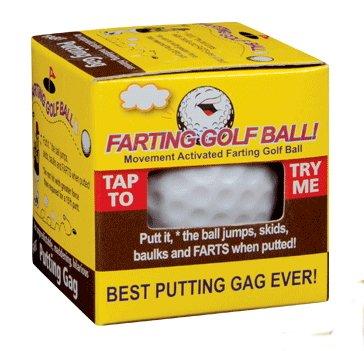 Rock Ridge Farting Golf Ball - Perfect on the Putting Green