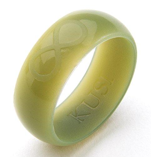 KUSI Infinity Mens Silicone Wedding Ring