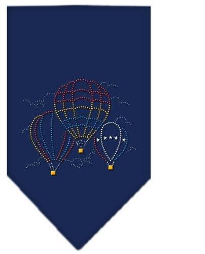 Hot Air Ballons Rhinestone Bandana Navy Blue large Case Pack 24 Hot Air Ballo... by DSD