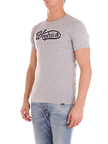 Uomo Wotee1124jr80 Woolrich T Grigio shirt dtwfAqTw