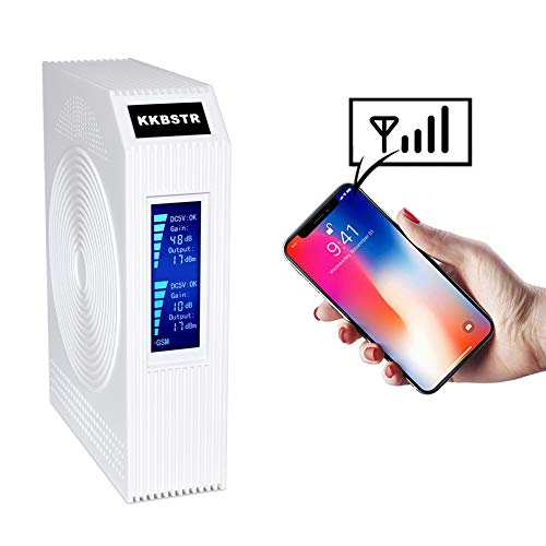KKBSTR Cell Phone Signal Booster, Home ATT T-Mobile Verizon Sprint Cellular Signal Repeater Amplifier Kit - Enhance Your 2G 3G 4G Call (Phone Verizon Watch Cell)