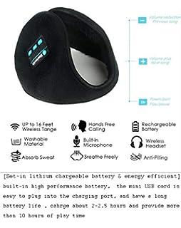 Generic Unisex orejeras de protección auditiva Bluetooth inalámbrico para disfrutar de llamadas/música/Noticias…