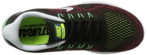 Nike Heren Gratis Rn 2017, Zwart / Zwart-hot Punch
