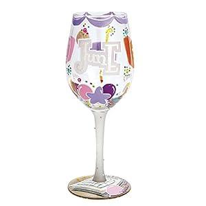 Lolita Birthday Month Wine Glass with Westwood Gourmet Bottle Opener (Happy June)
