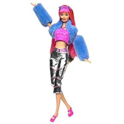 Barbie Jam'n Glam TERESA DOLL With HAIR EXTENSIONS by Mattel: Toys & Games