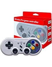 JFUNE Wireless PRO Controller Gamepad per Nintendo Switch/PC/Android Device, Bluetooth Controllore Joypad