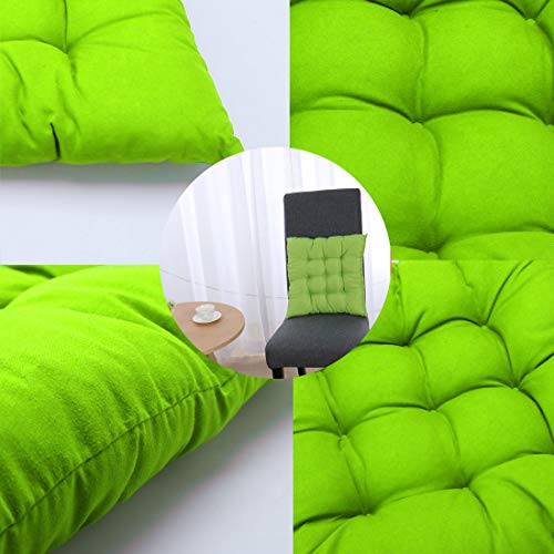 Indoor Outdoor Cotton Blends Chair Cushion Pad Cushions for Back Pain Sciatica Relief Lime Green Indoor Outdoor Cotton Blends Chair Cushion Pad Cushions for Back Pain Sciatica Relief Lime Green (Furniture Ebay Uk Outdoor)