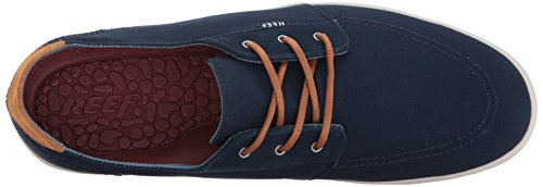 Reef Mens Banyan Fashion Sneaker Blu Notti
