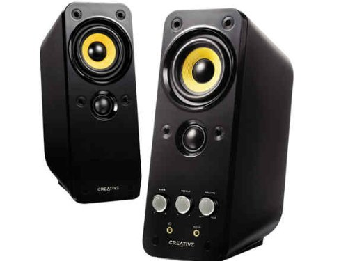 Creative Labs 51MF1610AA002 GigaWorks T20 Series II 2.0 Multimedia Speaker System with BasXPort (Cone Subwoofer Driver)