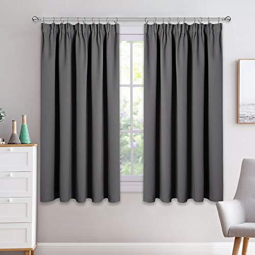 PONY DANCE Bedroom Window Curtains - 54' Drop...